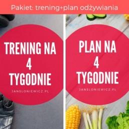 trening+ plan odżywiania