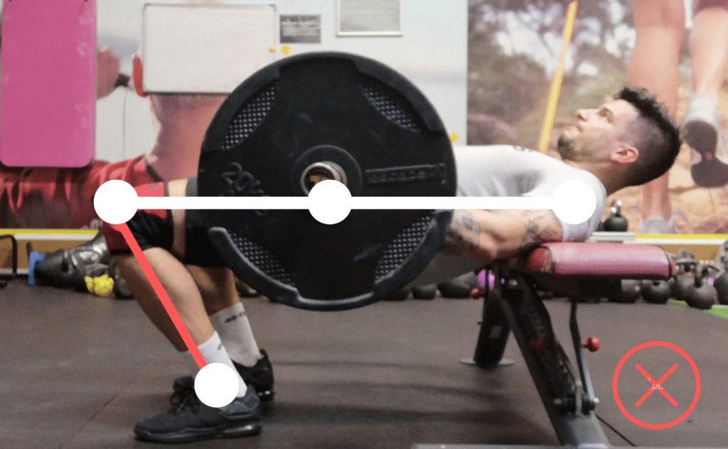 hip thrust niepoprawna technika