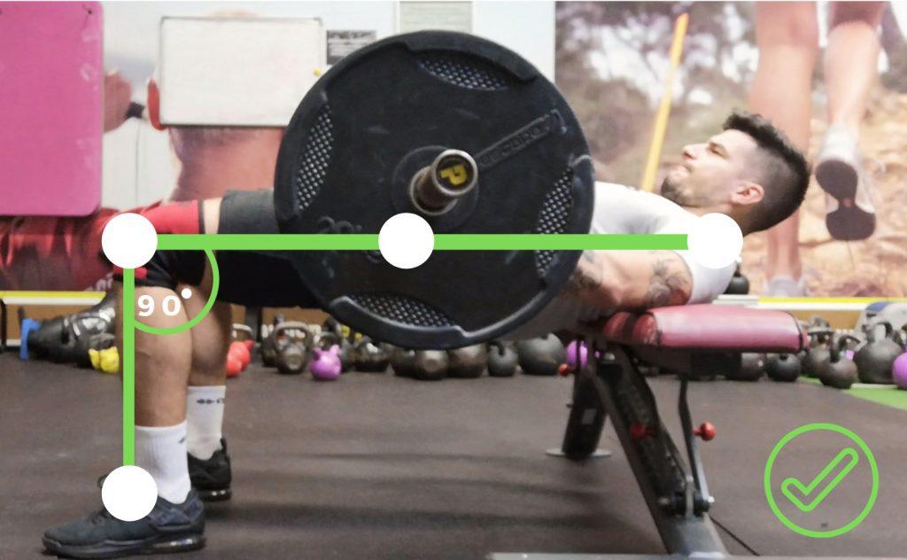 hip thrust mostek biodrowy